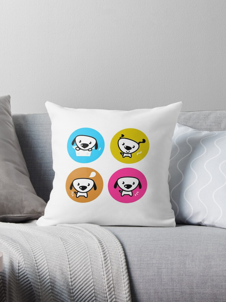 Dog icons collection. Original art and illustration by Bee and Glow Illustrations Shop