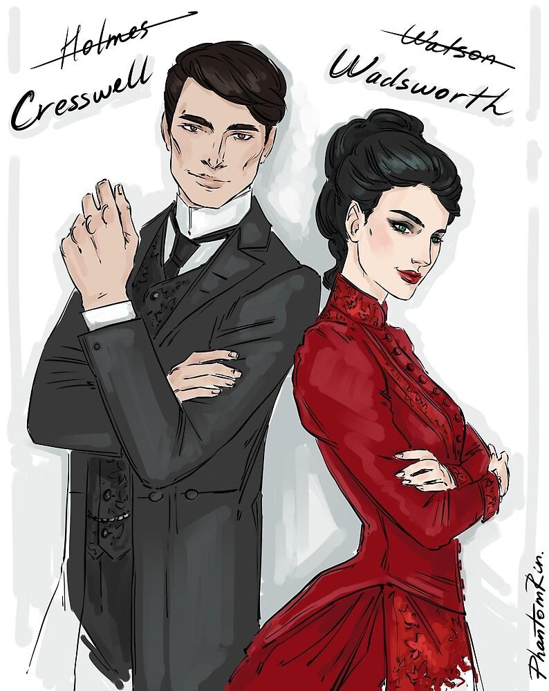 Cresswell & Wadsworth by PhantomRin