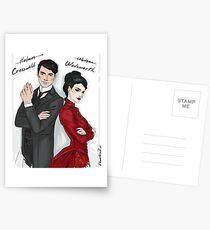 Postales Cresswell y Wadsworth