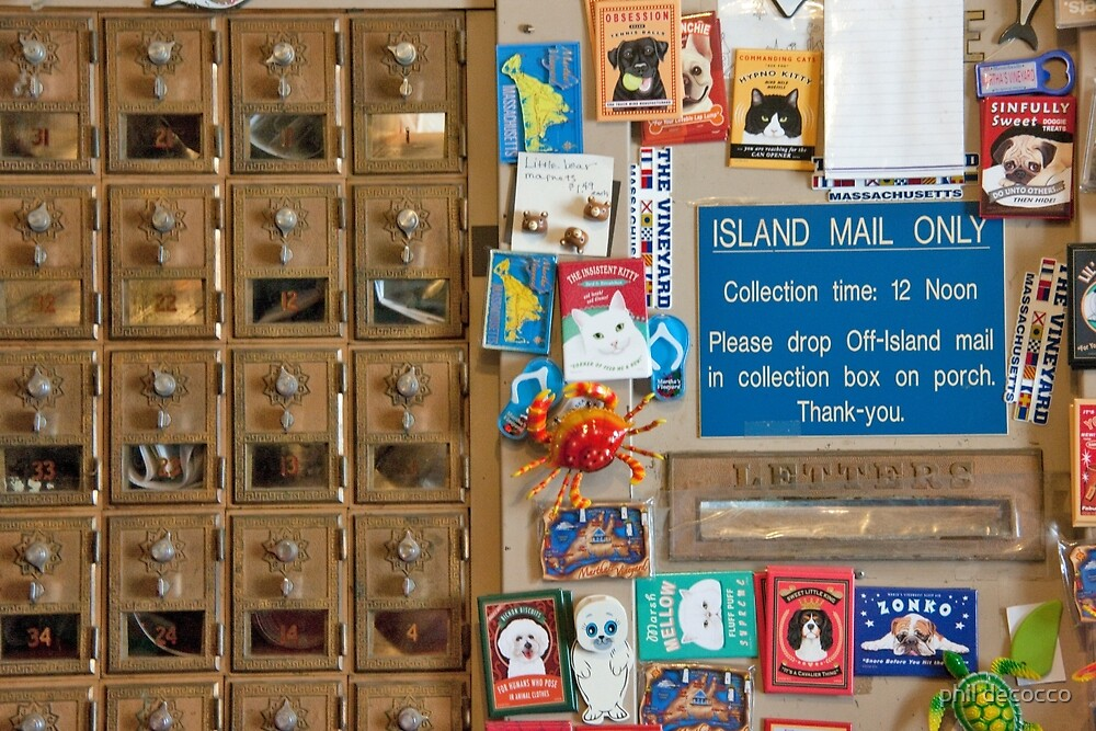Island Mail by phil decocco