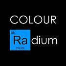 Colour Radium - Blue - For Black BackGround by Ry Bowie-Woodham