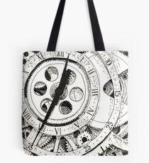 Watch in Ink Tote Bag