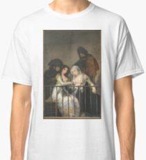 Goya - Majas Au Balcon Classic T-Shirt