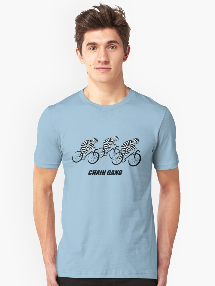 Chain Gang Unisex T-Shirt Front