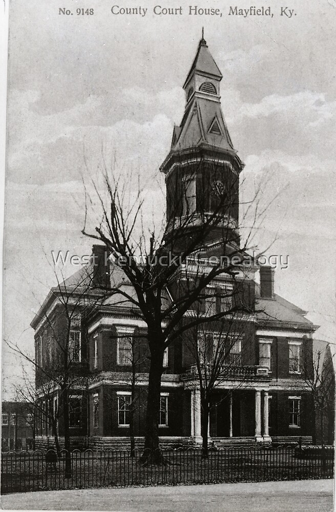1909, County Court House, Mayfield, Kentucky by Don A. Howell
