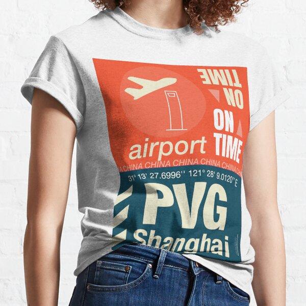 PVG Shanghai airport name  Classic T-Shirt