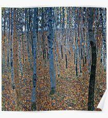 Gustav Klimt - Beech Grove I 1902  Poster