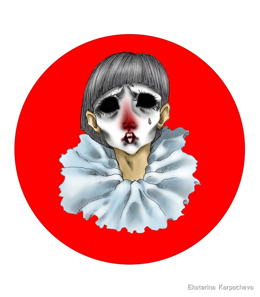 Pierrot by Ekaterina  Karpacheva