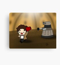 DALEK RUN Canvas Print