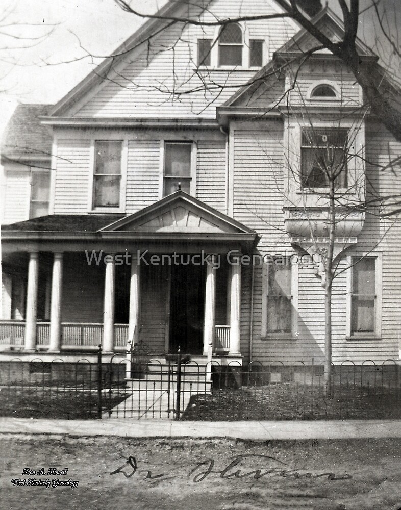 Dr. Steven's House, Mayfield, Graves County, Kentucky by Don A. Howell