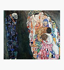 Gustav Klimt - Death And Life (1910 15)  Photographic Print