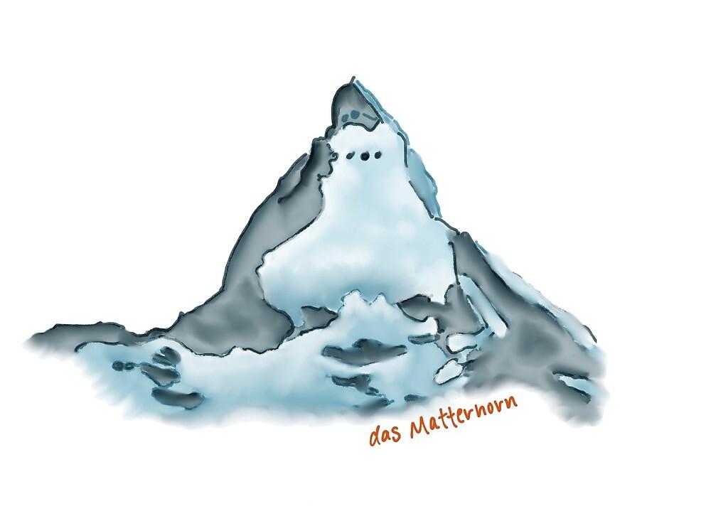 das Matterhorn by grimpeuse