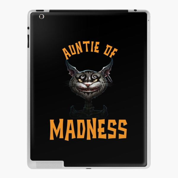Auntie of Madness Mad Cat Lover iPad Skin
