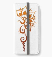 Rising Om - Henna  iPhone Wallet/Case/Skin