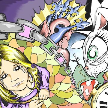 Alice in Color by drogelart
