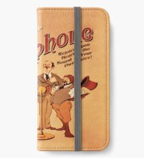 BioShock Infinite – Record Your Own Voxophone Poster iPhone Wallet/Case/Skin