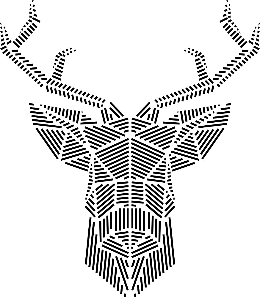 DEER - CERF - POLY by founzy
