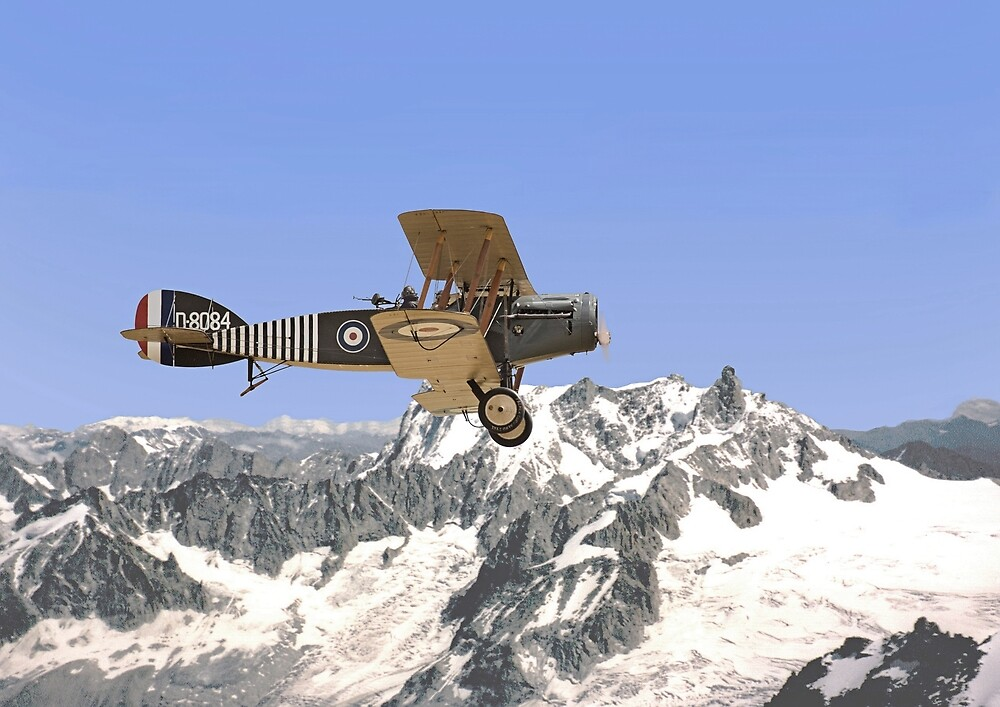 WW1- Bristol Fighter by Pat Speirs