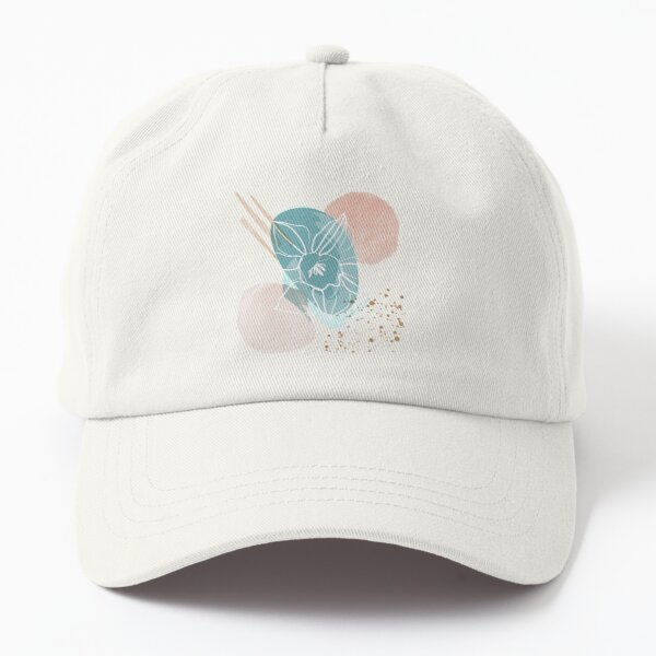 Abstract Floral Dad Hat