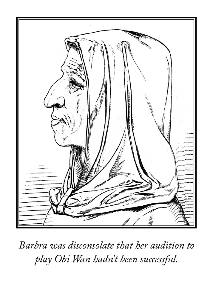 Barbra's Audition for Obi Wan by StrideArts