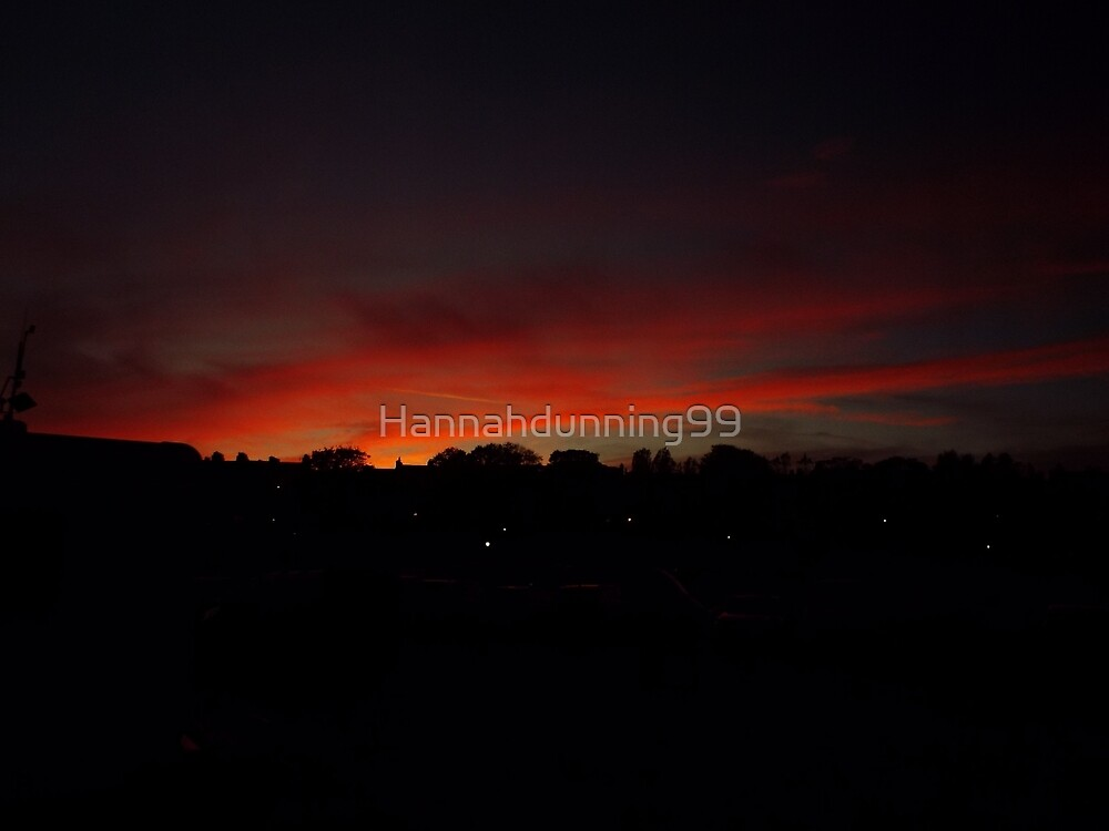 Night time Sky  by Hannahdunning99