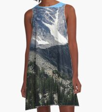Rocky Mountain National Park A-Line Dress