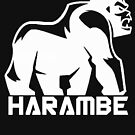 Harambe White by Thelittlelord