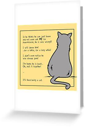 Cat by otterlyalice