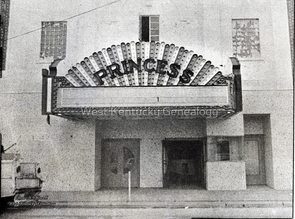 The Princess Theatre, Mayfield, Graves County, Kentucky by Don Howell