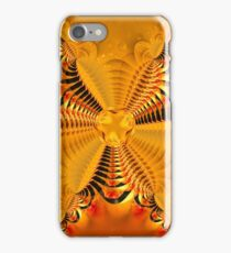 Twisting and turning colorful shapes iPhone Case/Skin