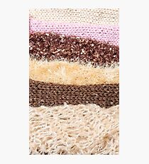 Knit layers Photographic Print