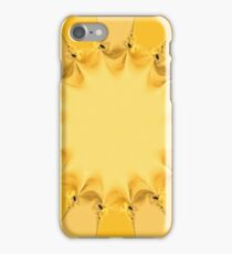 Beautiful pattern of a shining sun iPhone Case/Skin