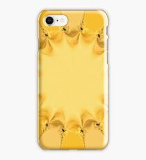 Beautiful pattern of a shining sun iPhone Case/Skin