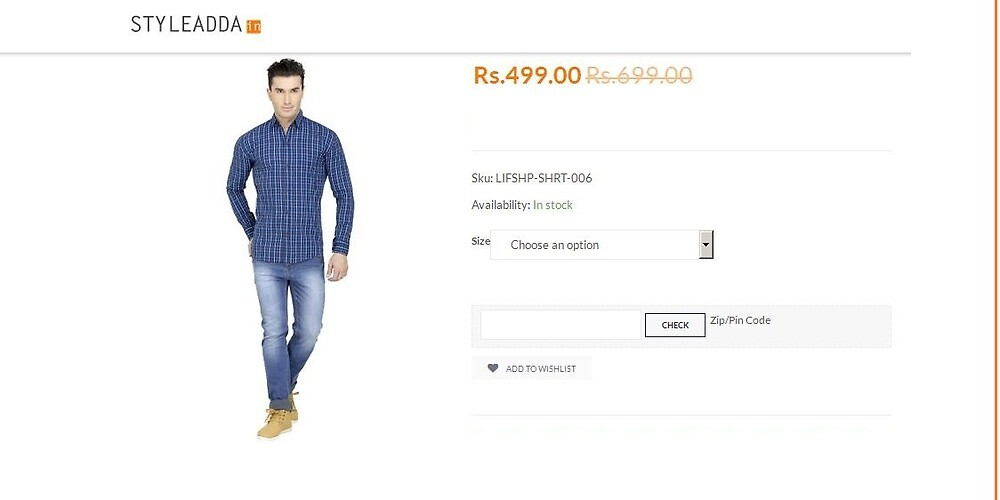 Buy Latest Indian Menswear Online in India by styleadda