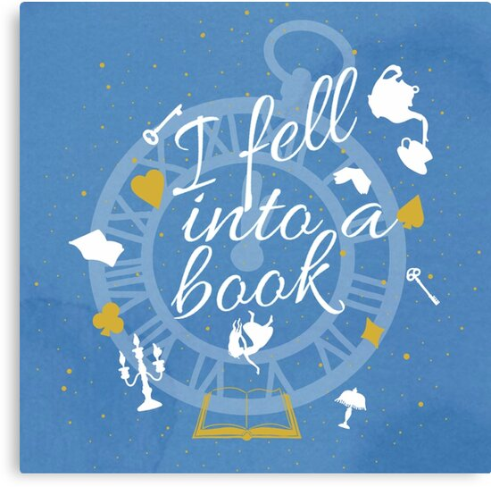 I Fell Into A Book by Savant Reader Designs