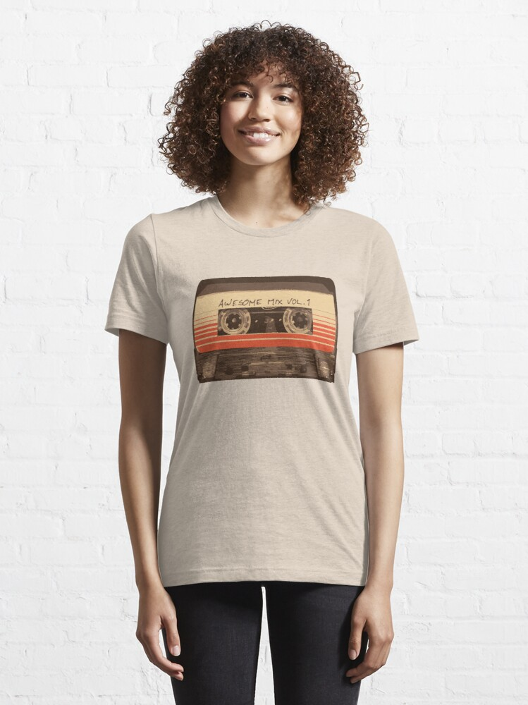 Alternate view of Galactic Soundtrack Essential T-Shirt