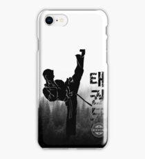 Taekwondo Korean High Kick iPhone Case/Skin