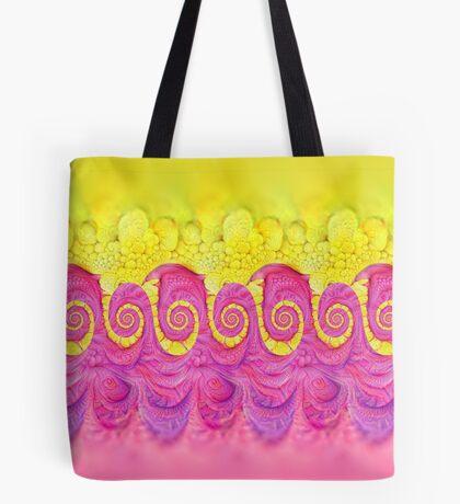 Yellow and Pink Tote Bag