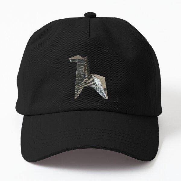 Origami zebra paper folded animal Dad Hat
