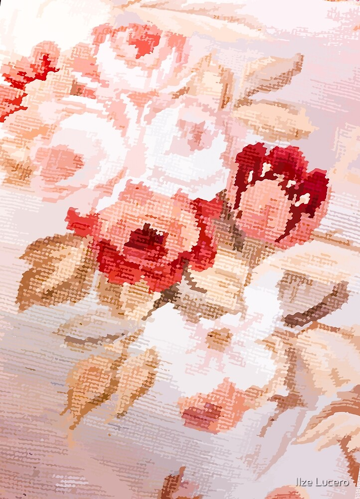 Victorian Roses by Ilze Lucero