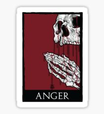 7SINS - ANGER Sticker