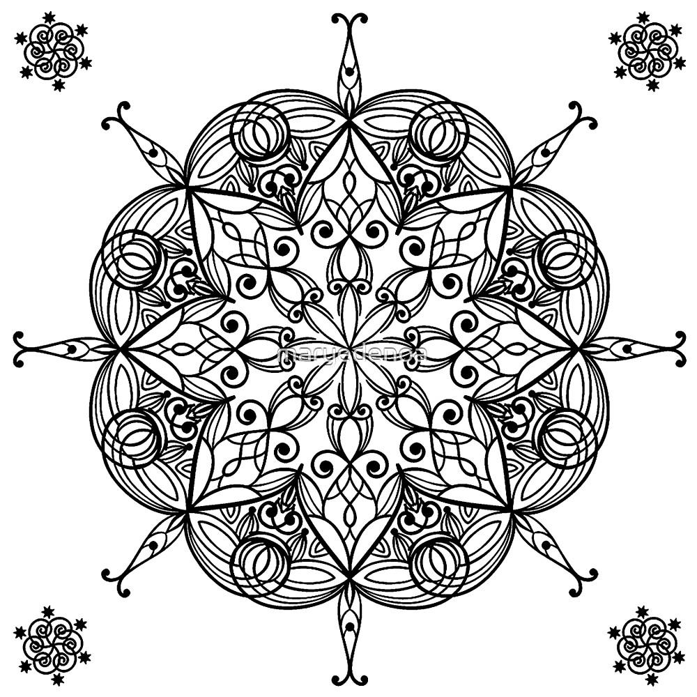 Mandala by maryedenoa