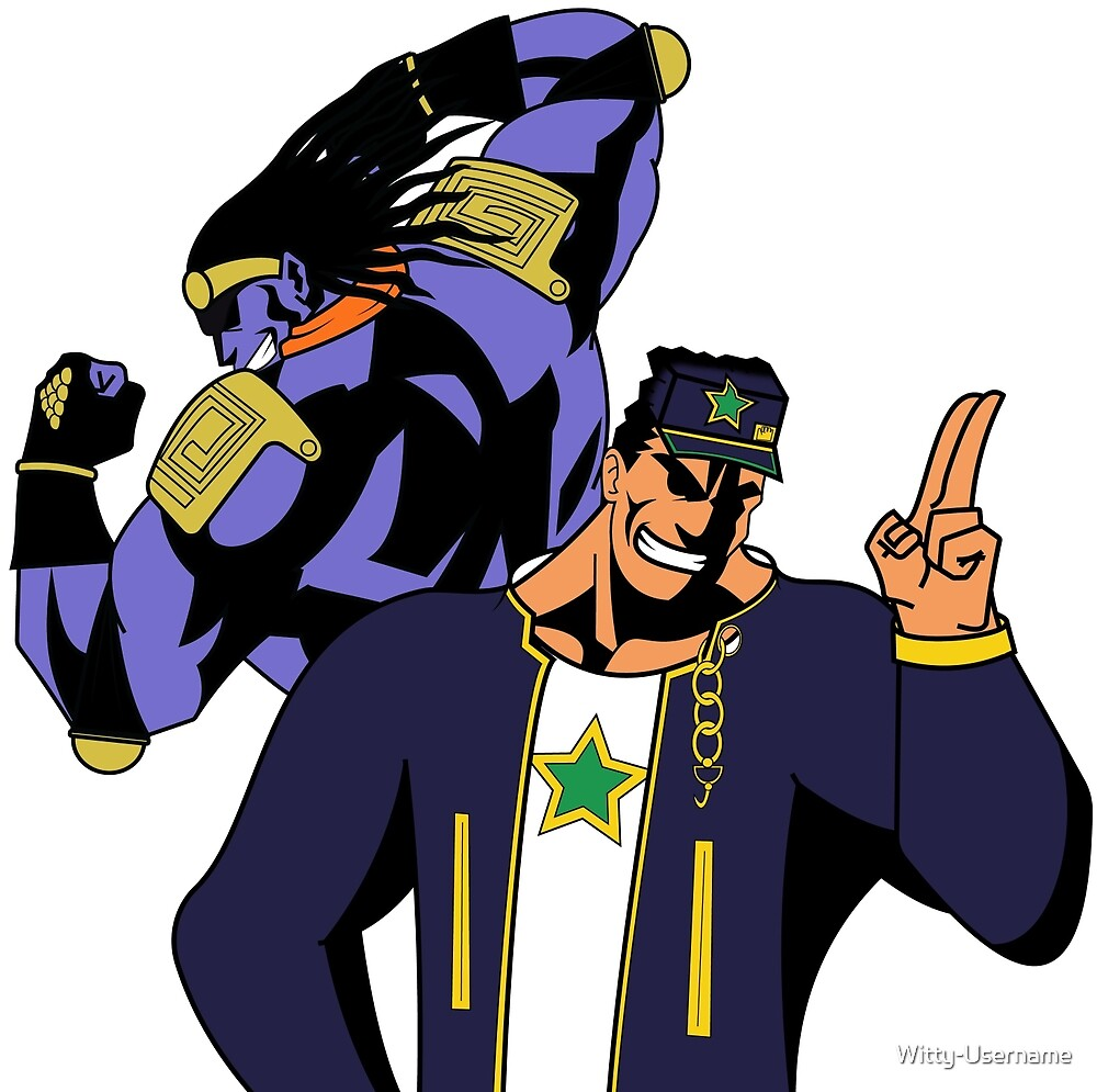 All Might as Jotaro Kujo by Witty-Username