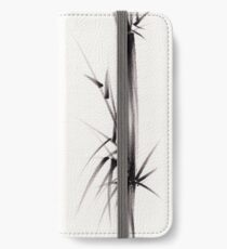 """Tao"" Original sumi-e brush painting on paper. iPhone Wallet/Case/Skin"