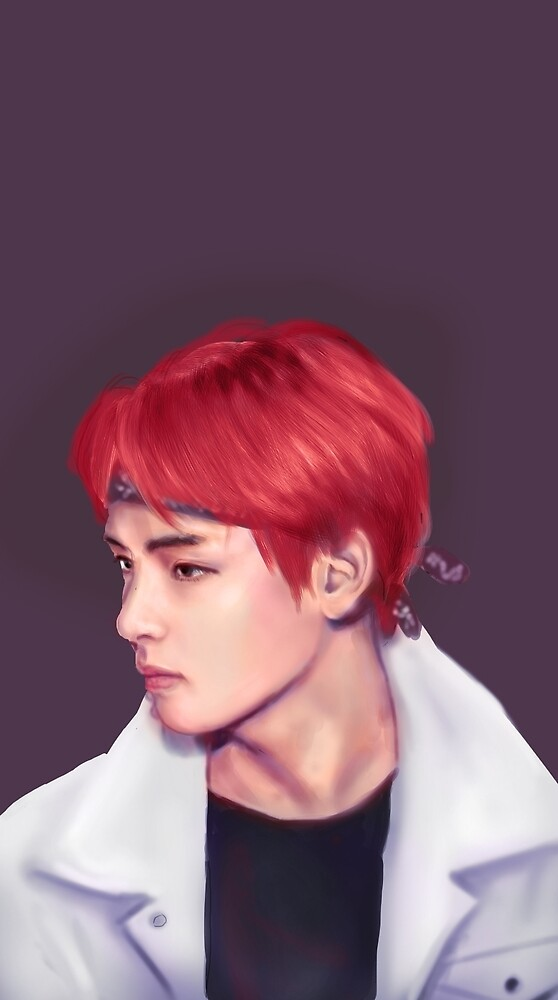 Taehyung Fire by scapity