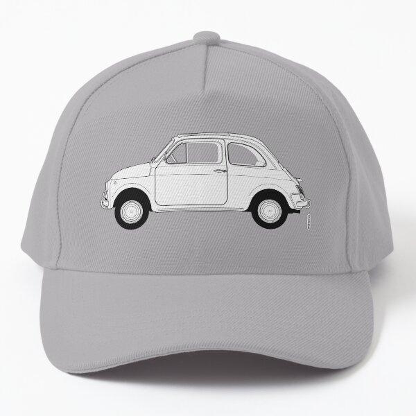 Fiat 500 Vintage Car Baseball Cap