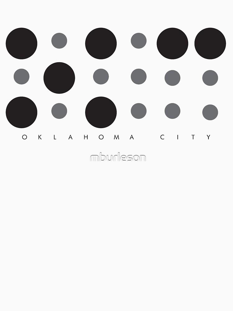 Oklahoma City Braille Logo by mburleson
