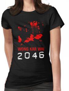 2046 -WONG KAR WAI- Womens Fitted T-Shirt