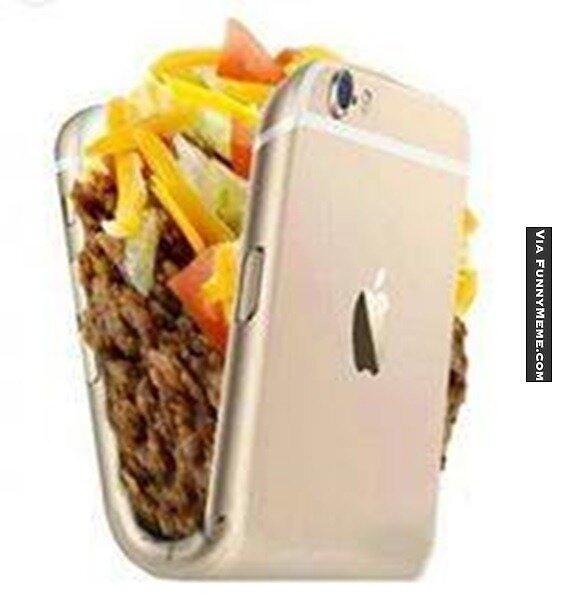 taco phone by anya246