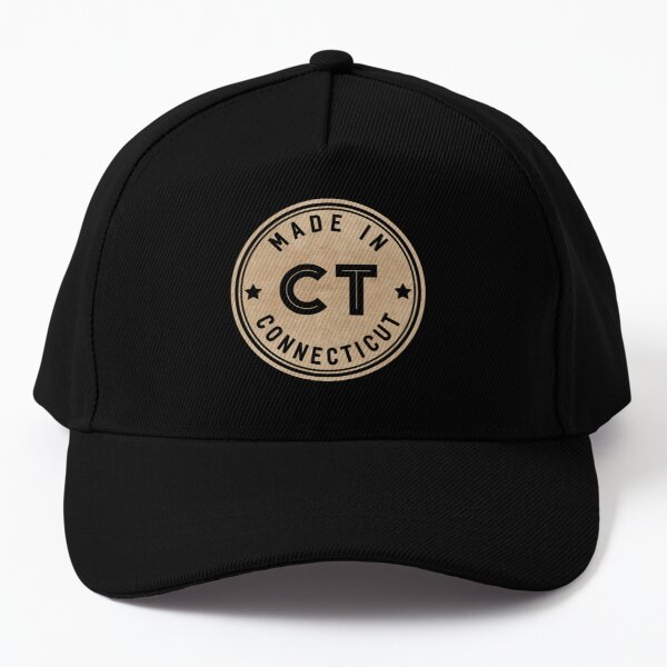 Made In Connecticut CT State USA Baseball Cap